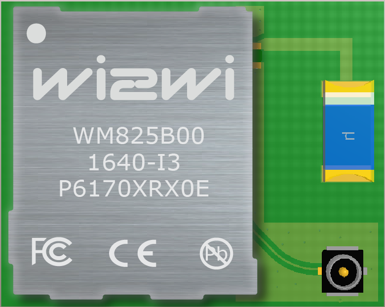 Single-Band Wi-Fi (802 11 b/g/n) Module with integrated chip