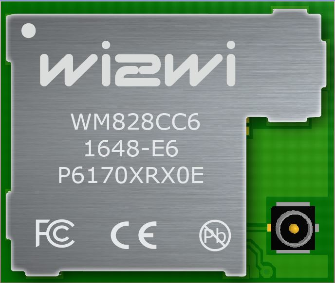 WiFi 802 11 acbgn + BT 4 2 (Smart Ready) Module with u Fl